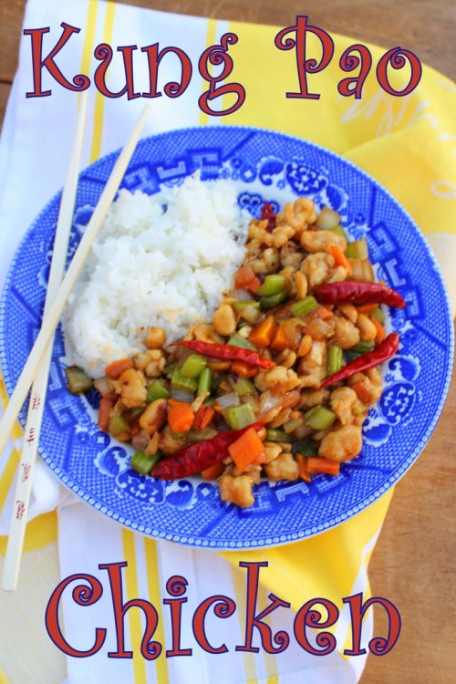 Kung Pao Chicken #SundaySupper