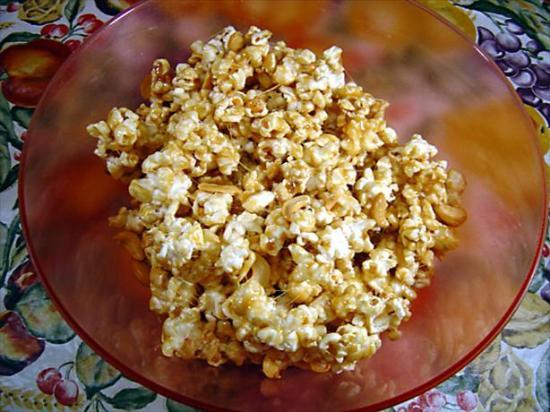 Microwave Caramle Popcorn