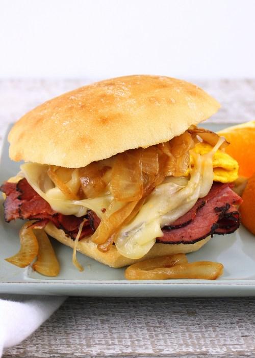 Bronx Breakfast Sandwich