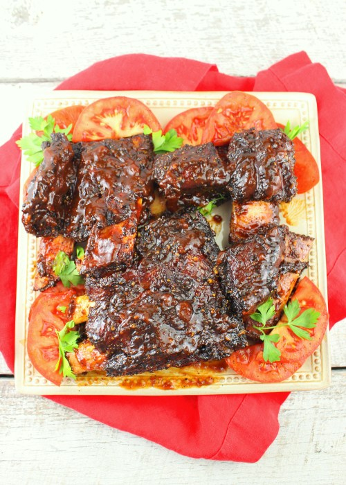 Texas Style Smoked Beef Ribs