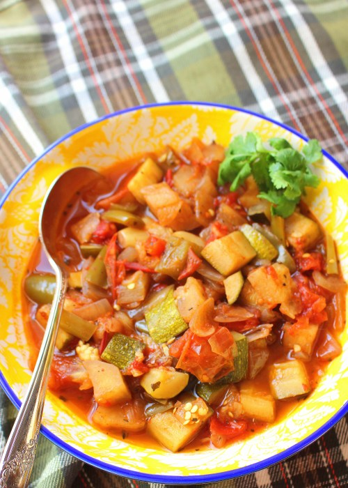 Slow Cooker Summer Ratatouille Stew