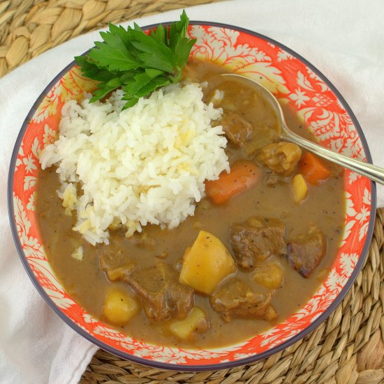 Japanese Beef Curry (Kare Raisu)