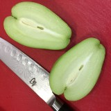 Halved Chayote
