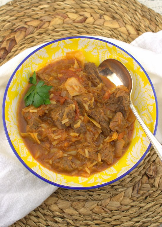 Pressure Cooker Amish Cabbage Patch Stew
