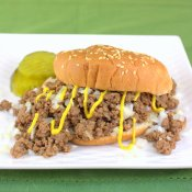 Pressure Cooker Tavern Sandwiches (Iowa Loosemeat)