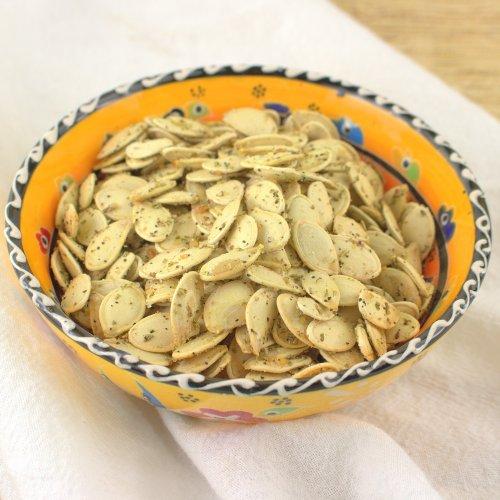 Savory Rosemary and Garlic Roasted Pumpkin Seeds