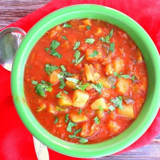 Zucchini Minestra Soup