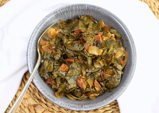 Crock Pot Collard Greens