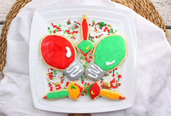 Holiday Lights Sugar Cookies