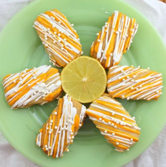 Lemon Shortbread Sandwich Cookies