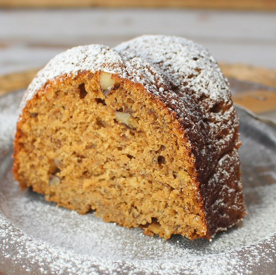 Bundt Pan Banana Nut Bread