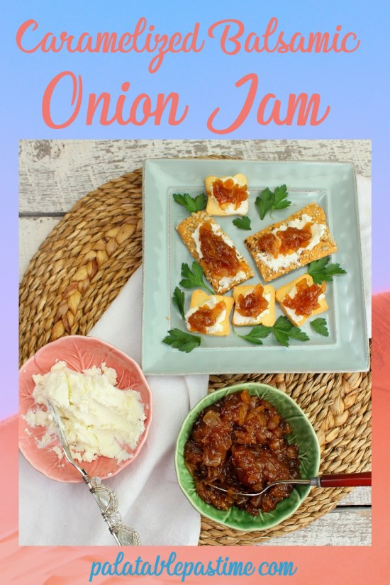 Caramelized Balsamic Onion Jam