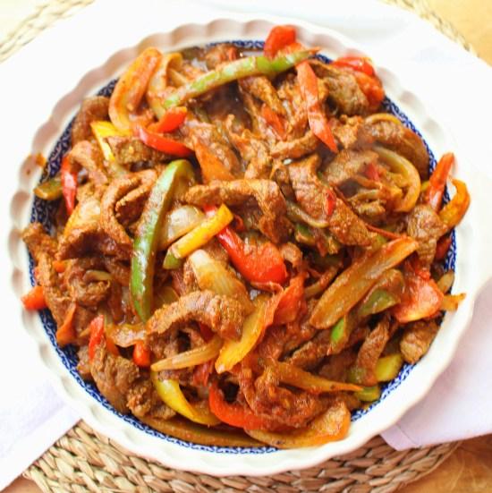 Ethiopian Beef Siga Tibs