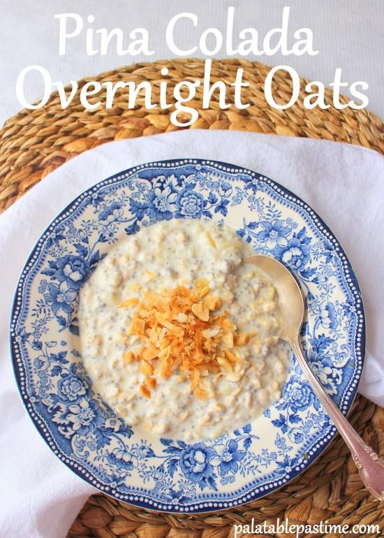 Pina Colada Overnight Oats