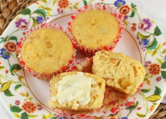 Pineapple Macadamia Nut Muffins
