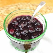 Quick Blueberry Pancake Syrup