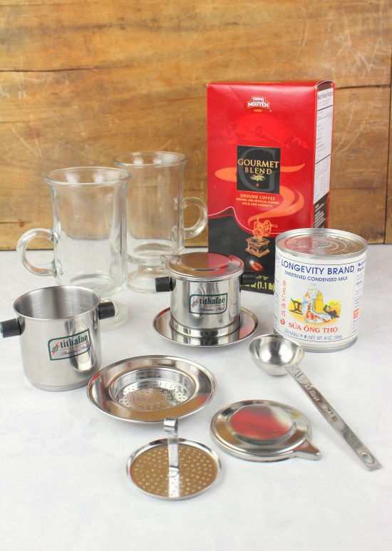 Vietnamese Coffee Making Supplies