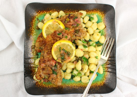 Veal Scallopini and Piccata Gnocchi