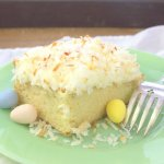 Easy Coconut Sheet Cake