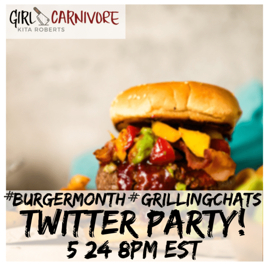 Burger Month Twitter Party