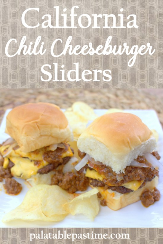 California Chili Cheeseburger Sliders