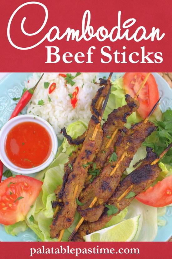 Cambodian Beef Sticks