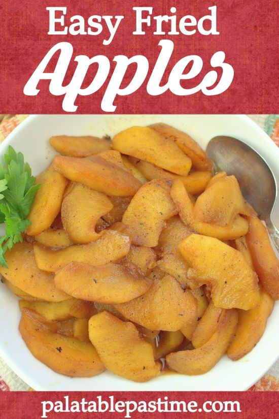 Easy Fried Apples