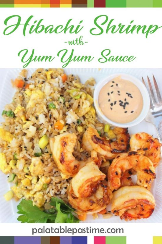 Hibachi Shrimpwith YumYum Sauce
