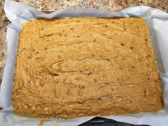 Amish Pumpkin Bars batter