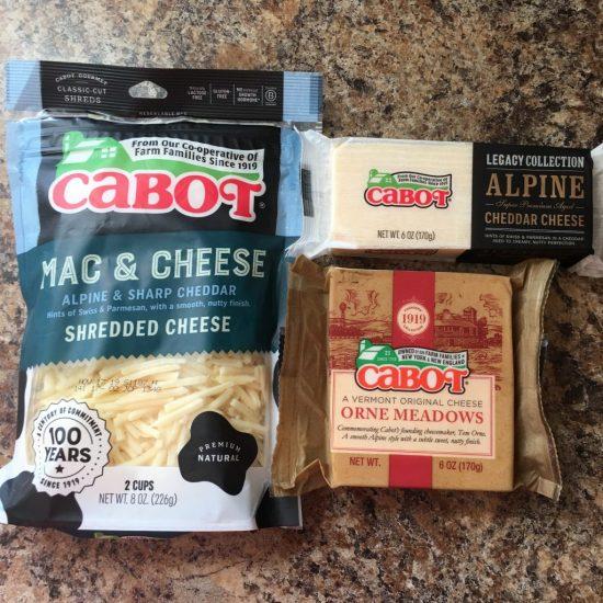 Cabot Alpine Cheeses