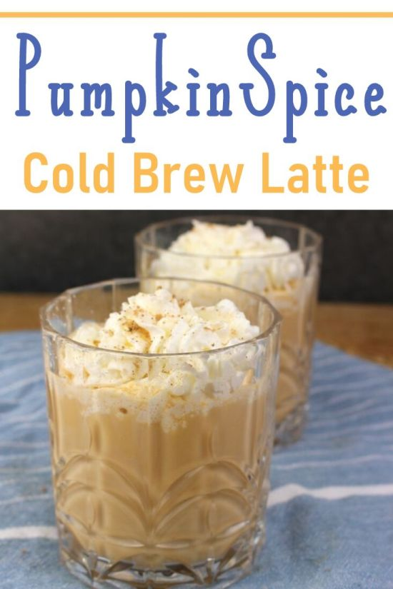 Cold Brew Pumpkin Spice Latte