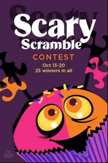 Scary Scramble