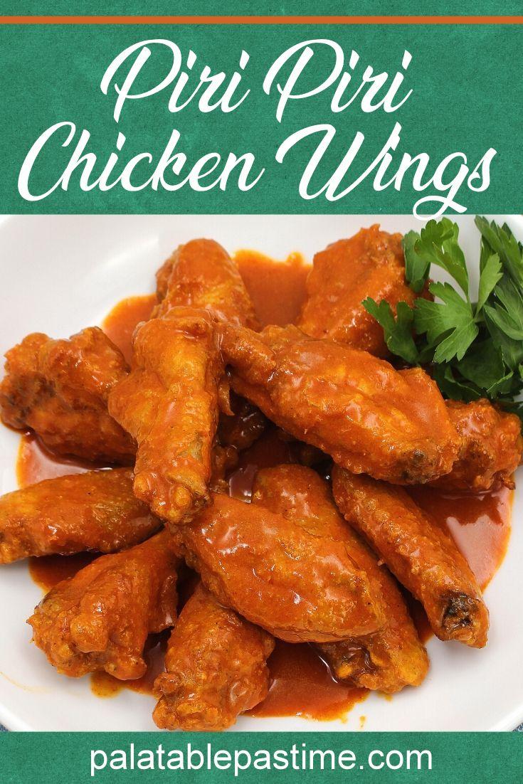 Air Fryer Peri Peri Chicken Wings