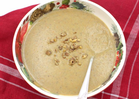 Velouté de Châtaignes (Cream of Chestnut Soup)