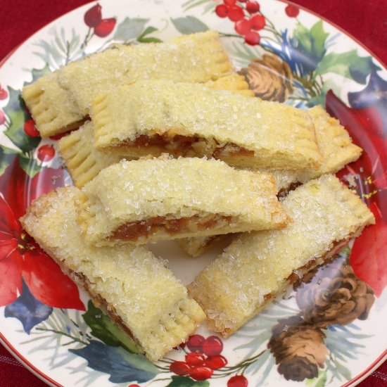 Quince and Almond Filled Cookies