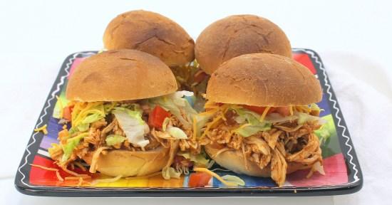 Fiesta Chicken Sandwiches