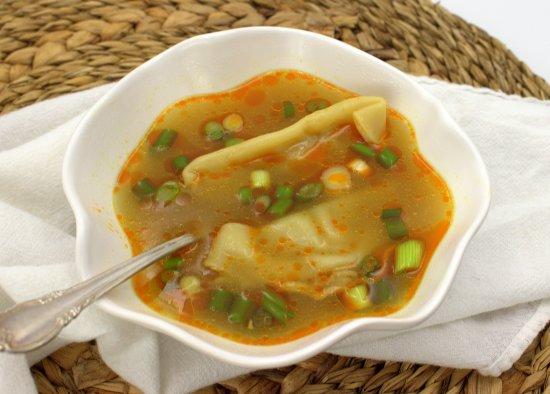 Ginger Dumpling Soup