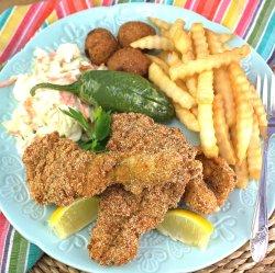 Cajun Fish Fry Coating