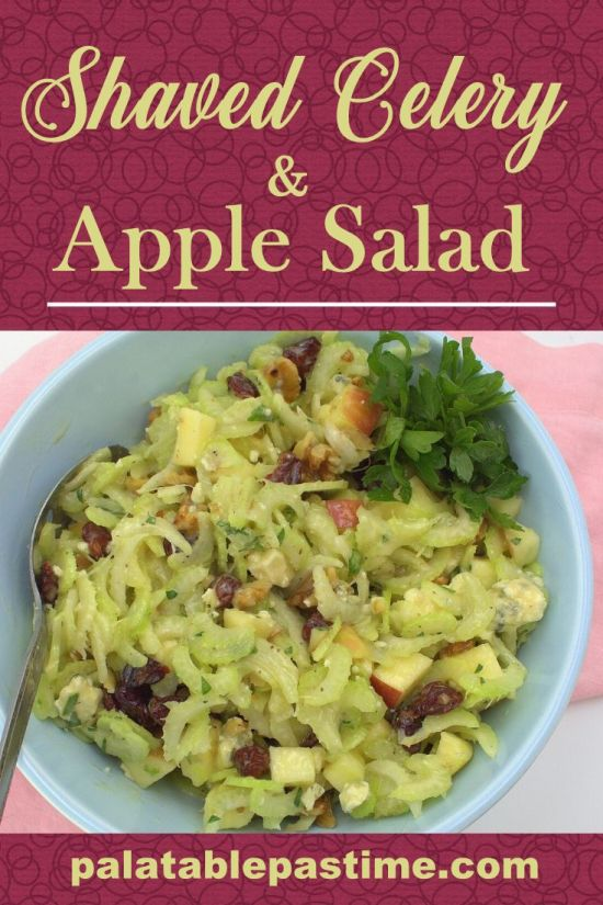 Shaved Celery and Apple Salad