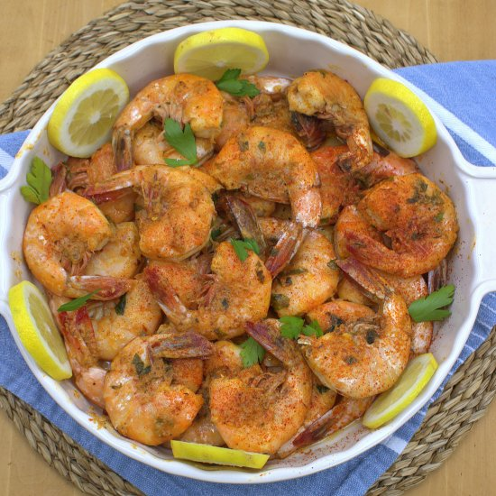 Cajun Style Peel and Eat Shrimp