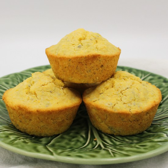 Small Batch Corn Muffins