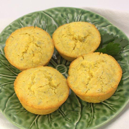 Small Batch Corn Muffins