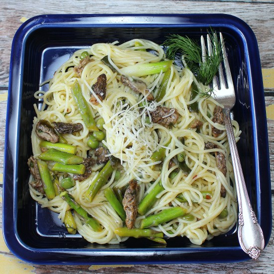 Pasta with Morels