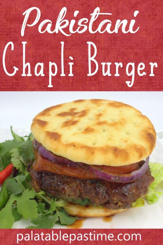 Pakistani Chapli Burger