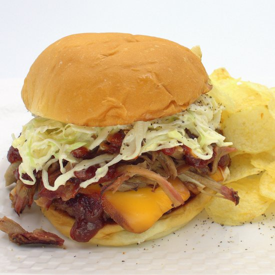 Smoky BBQ Cheddar Burger