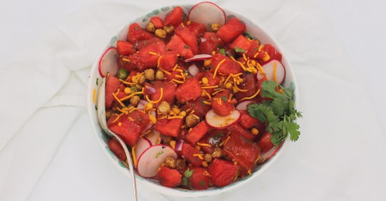 Watermelon Chaat Salad