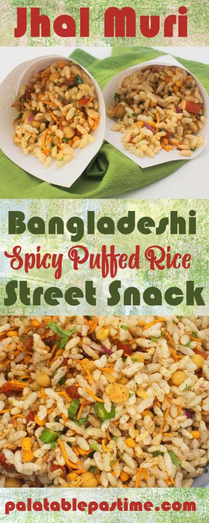 Jhal Muri (Spicy Puffed Rice Street Snack)
