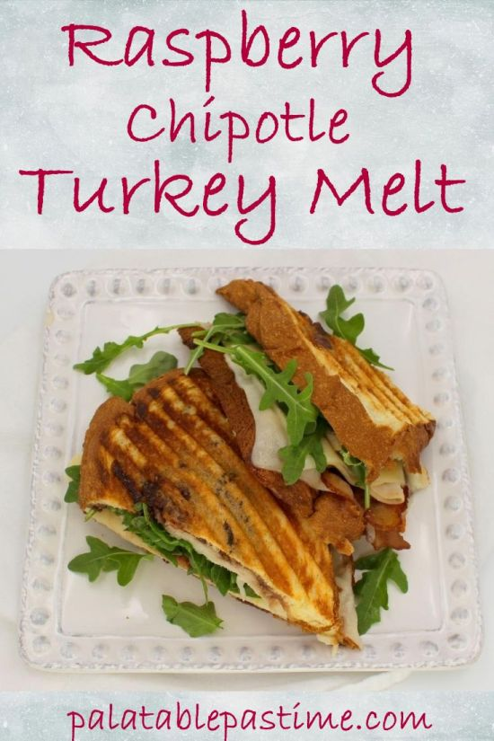 Raspberry Chipotle Turkey Melt
