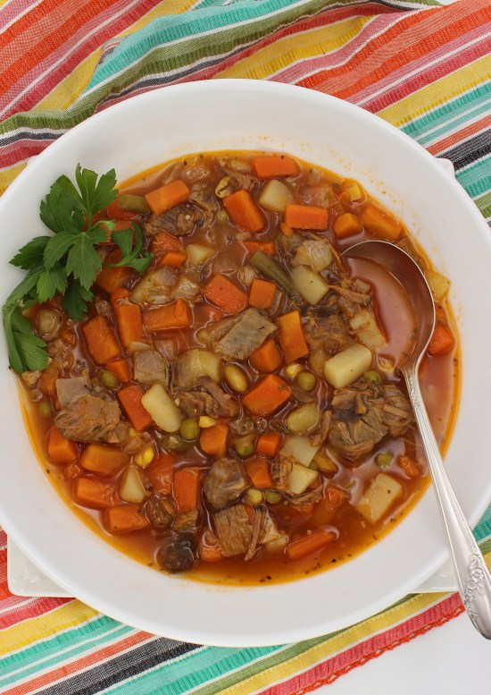 Pantry Beef Vegetable Soup