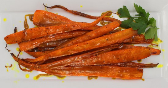 Curry Roasted Carrots